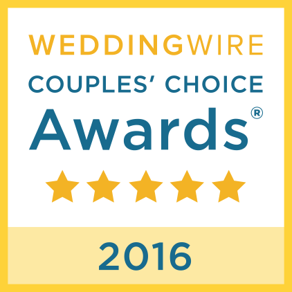 Wedding Wire Couples' Choice Award 2016 Winner