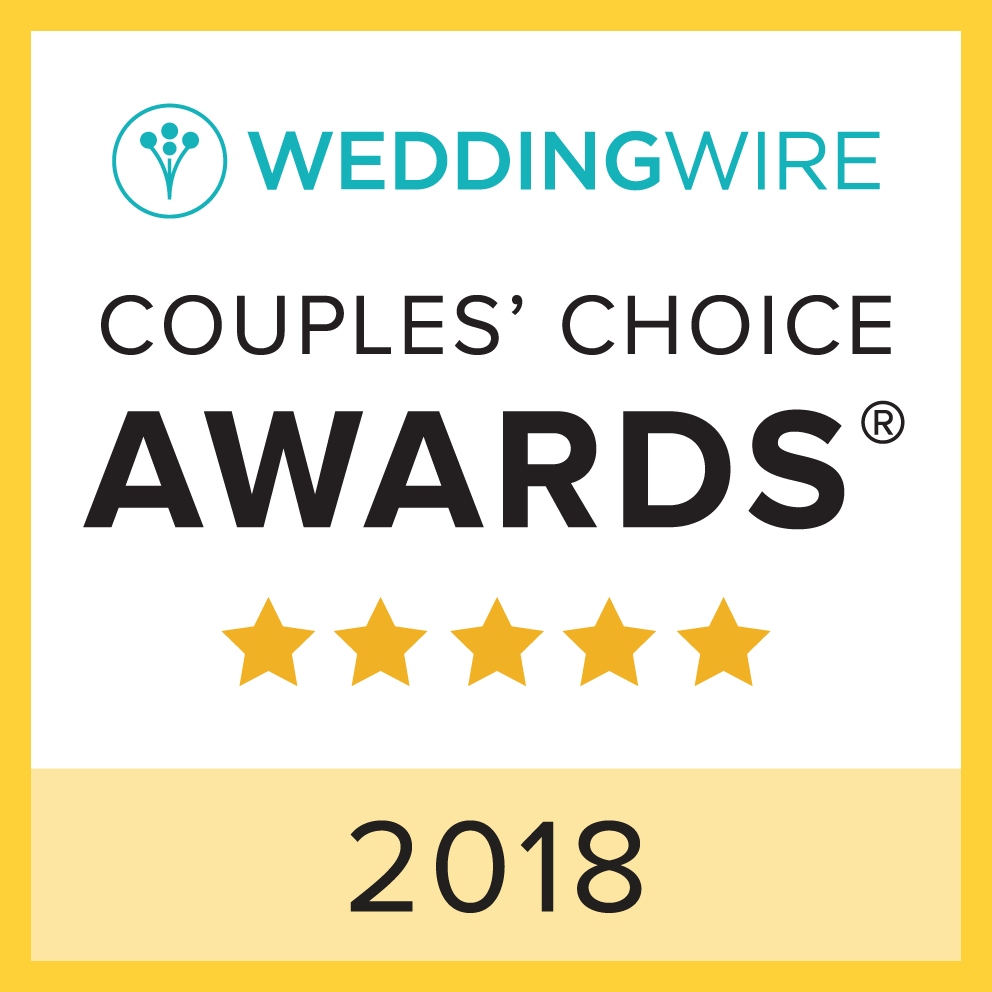 Wedding Wire Couples' Choice Award 2018 Winner