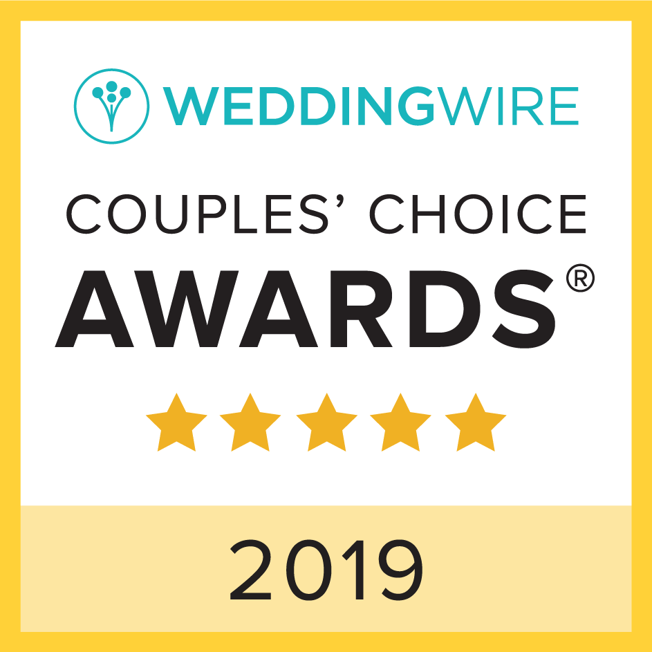 Wedding Wire Couples' Choice Award 2019 Winner