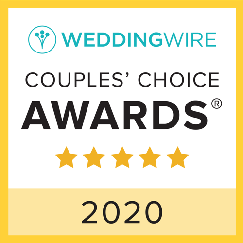 Wedding Wire Couples' Choice Award 2020 Winner